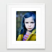 coraline Framed Art Prints featuring Coraline by Malice of Alice