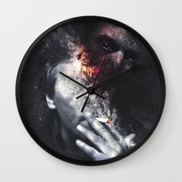 Addiction Demon Wall Clock