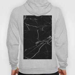 modern black marble look Hoody