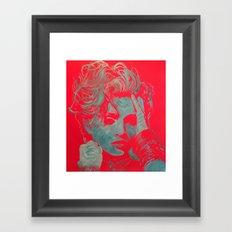Seeking Susan 2 Framed Art Print
