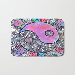 The Ying and the Yang Bath Mat