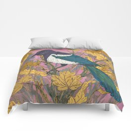 Magpie and Maple Comforters
