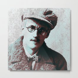 James Joyce Metal Print
