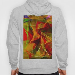 Abstract Triangles 2B Hoody