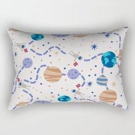 Little Astronauts Rectangular Pillow