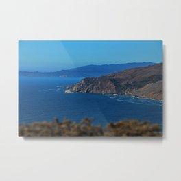 Muir Beach Overlook Metal Print