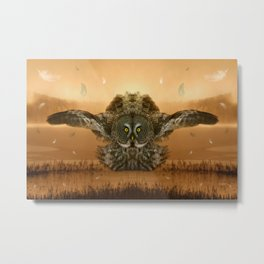 The greatest great gray of them all Metal Print