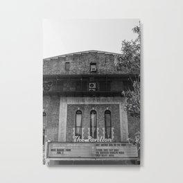 Old Brooklyn Cinema Metal Print
