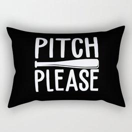 Pitch Please Rectangular Pillow