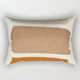 Copper Spots Rectangular Pillow
