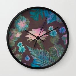 Exotic Gloomy Garden Wall Clock