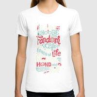 fandom T-shirts featuring Fandom Life by Risa Rodil