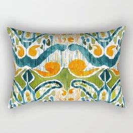 sugarsnap balinese ikat Rectangular Pillow