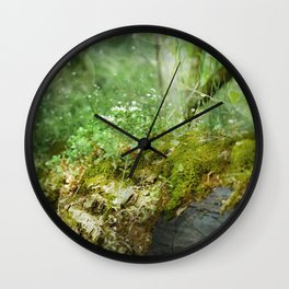 Where Miracles Are Born Wall Clock