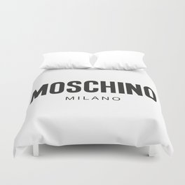 Moschino Milano Duvet Cover
