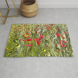 Poisoned Poppies Rug