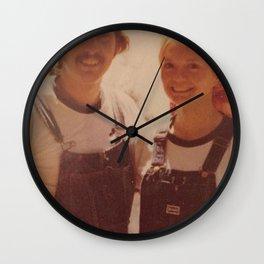 Mom and dad honeymoon Wall Clock