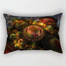 Starship Arriving Rectangular Pillow