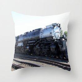 Big Boy - Steam Engine  Throw Pillow