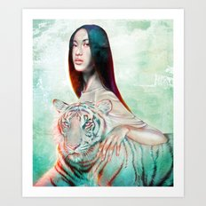 Regal  Art Print