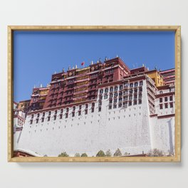 Close-up on Potala palace - Tibet Serving Tray