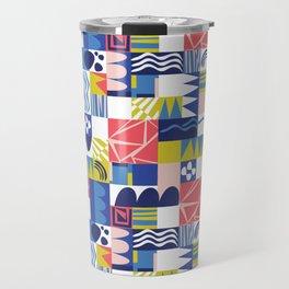 Geometric Playground Travel Mug