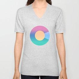 Colorado Logo - Colorful Unisex V-Neck