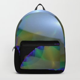 Colorful Discs of the Nile Backpack