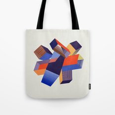 Geometric Painting by A. Mack Tote Bag
