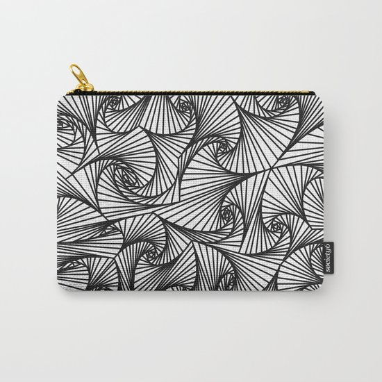 Fractal Sketch Light Carry-All Pouch