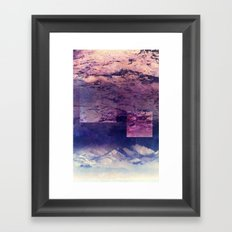 Oceans In The Sky Framed Art Print