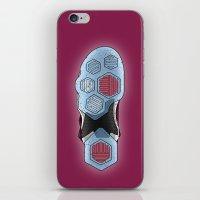 lebron iPhone & iPod Skins featuring LeBron 13 by KODYMASON