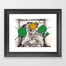 Duality Framed Art Print