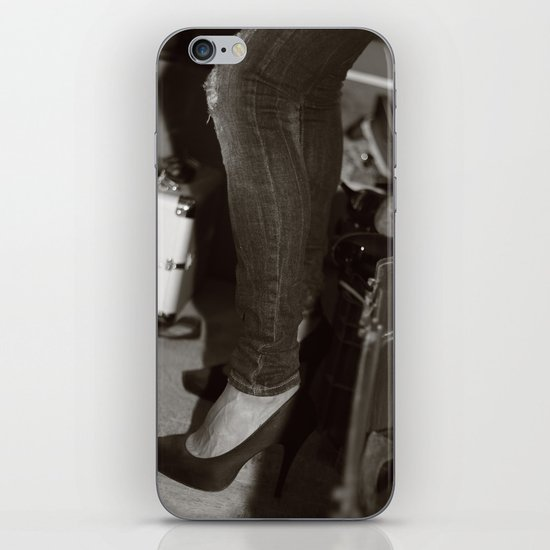 Lady iPhone & iPod Skin