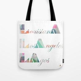 LA Cubed Tote Bag