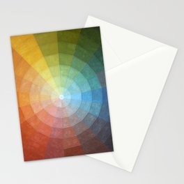 Color Wheel Quilt Stationery Cards