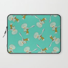 Squidward Dab Laptop Sleeve