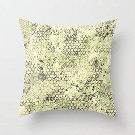 Sage Green Odyssey Throw Pillow