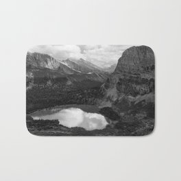 Grinnell Lake from the Trail No. 2 bw Bath Mat