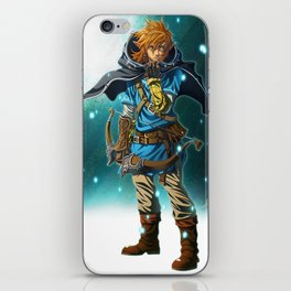 The Legend of Zelda: Breath of the Wild - Link iPhone Skin