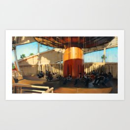 Intro Art Print