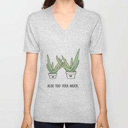 Aloe You Very Much Unisex V-Neck