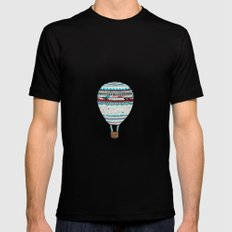 Candy Balloon MEDIUM Black Mens Fitted Tee
