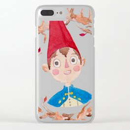 Over the garden wall Watercolor Clear iPhone Case
