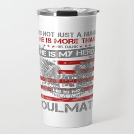 He is my Hero - Soulmate Travel Mug