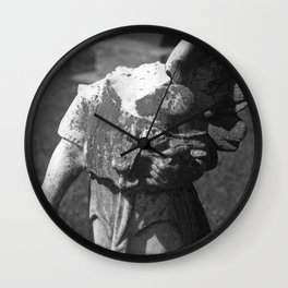 Gothic Angel Wall Clock