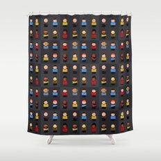 Star T - Little Ppl Shower Curtain