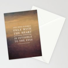 IV. Anything essential is invisible to the eyes. Stationery Cards