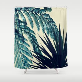 Green of the Tropics Shower Curtain
