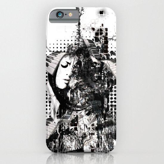 black&white iPhone & iPod Case